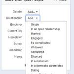zoekfilters personen zoeken Facebook